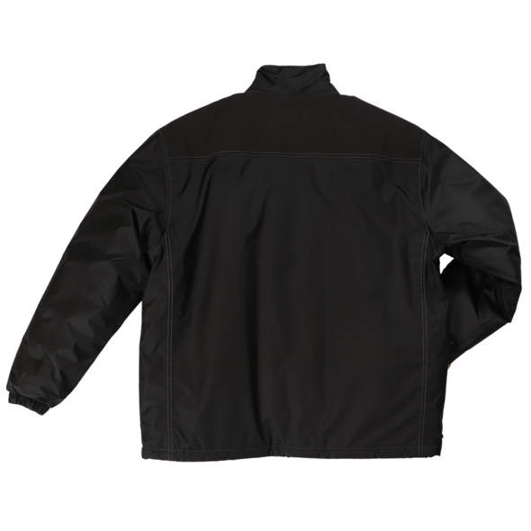 Tough Duck Black Insulated Poly Oxford Jacket WJ24 Back