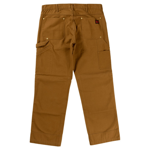 Tough Duck Washed Duck Pant WP02 Brown Back