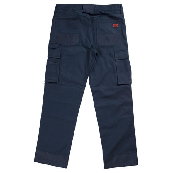 Tough Duck Flex Twill Carpenter Pants WP05 Navy Back