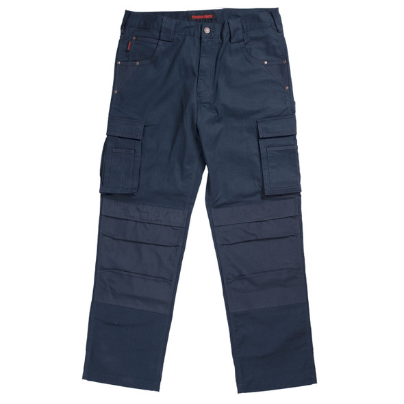 Tough Duck Flex Twill Carpenter Pants WP05 Navy Front