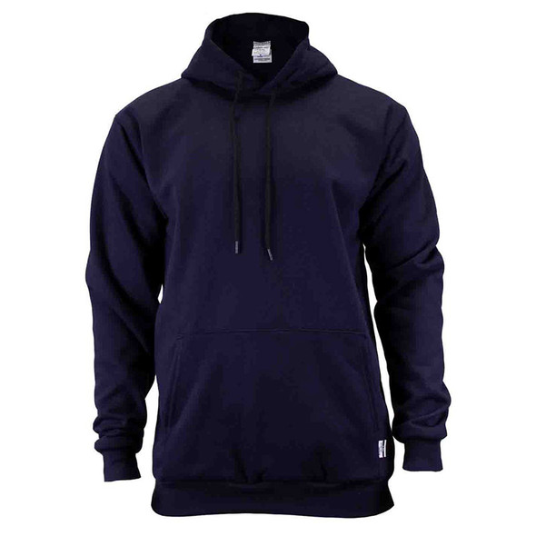 Union Line FR Navy Ultrasoft Fleece Made in USA Hooded Sweatshirt 10250-01 Front