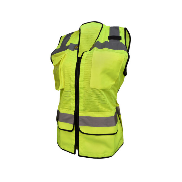 Radians Class 2 Hi Vis Ladies Safety Vest SV59W-2 Green Front