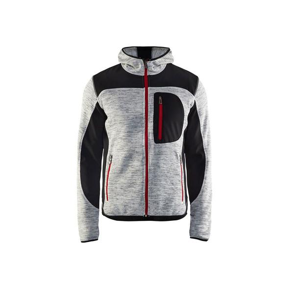 Blaklader US Knitted Jacket 494021179099 Grey Front