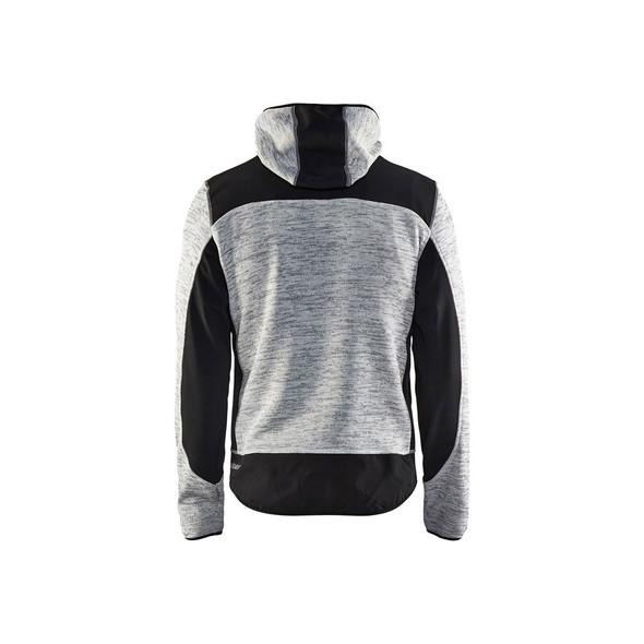 Blaklader US Knitted Jacket 4940211790999099 Grey Back