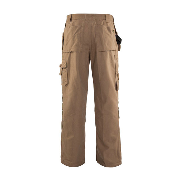 Blaklader Craftsmen Brawny 12oz. Work Pants 163013202800 Antique Khaki Back