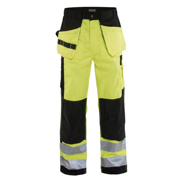 Blaklader Class E Hi Vis Work Pants 163318603399 Front