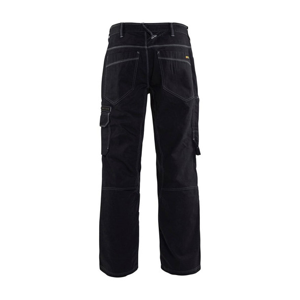 Blaklader Cordura Denim Pants 165911408900 Navy Blue Back