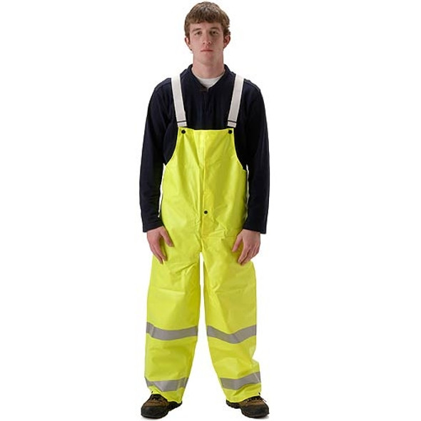 NASCO FR Non-ANSI Hi Vis Omega Flash Fire Arc Rated Bib Trouser 5001TF