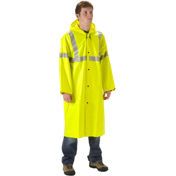 NASCO Class 3 Hi Vis WorkChoice Full Length Raincoat 513CFY221