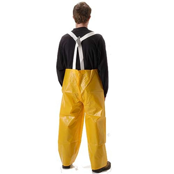 NASCO ASTM D751 WorkHard Waterproof Bib Trouser 61TSY Back