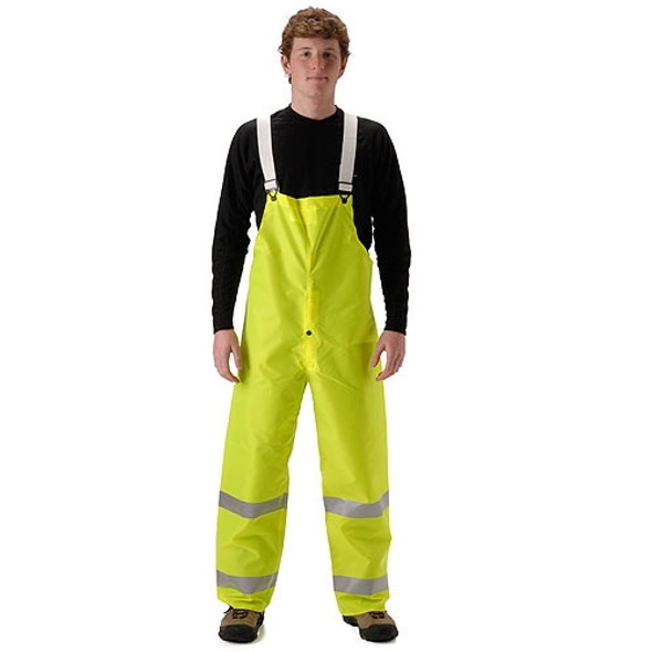 NASCO Class E Hi Vis Yellow WorkLite Bib Trouser 80TFY455