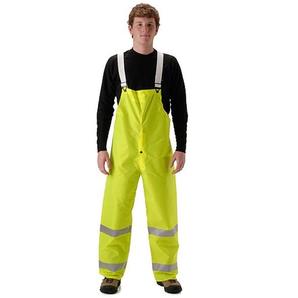 NASCO Class E Hi Vis Yellow WorkLite Bib Trouser 80TFY455