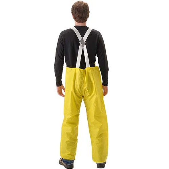 NASCO ASTM D6413 WorkLite Made in USA Bib Trouser with Elastic Suspenders 80TY Back