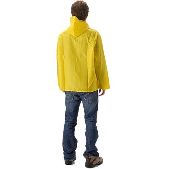 NASCO ASTM D6413 WorkLite Waist Length Rain Jacket 81JY