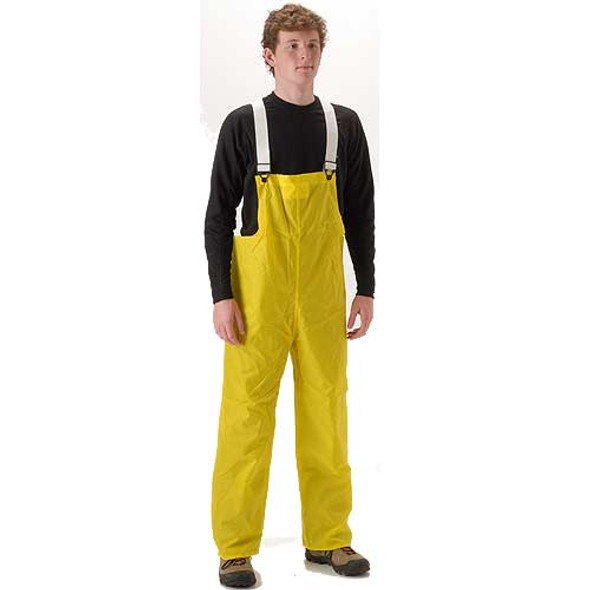 NASCO ASTM D6413 WorkLite Industrial Waterproof Bib Trouser 81TY Front