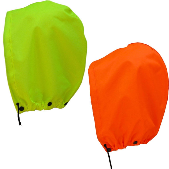 NASCO Hi Vis WorkLite Detachable Made in USA Rain Jacket Hood H80455