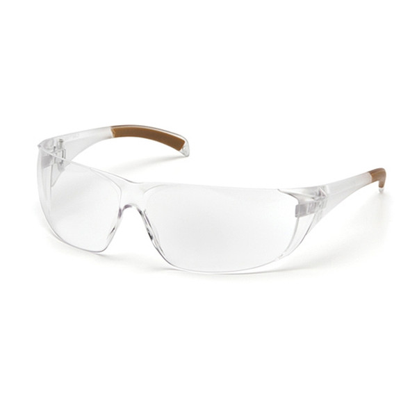 Carhartt Billings Safety Glasses Clear Lens / Clear Temples - Box Of 12 - CH110S