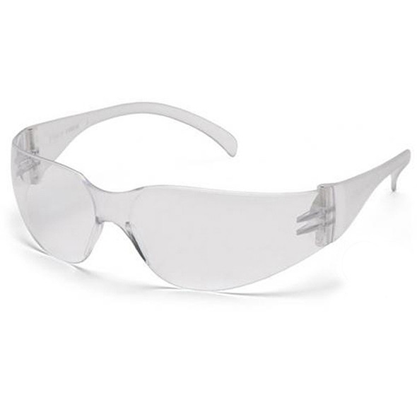 Pyramex Intruder Clear Lens Safety Glasses S4110S - Box of 12