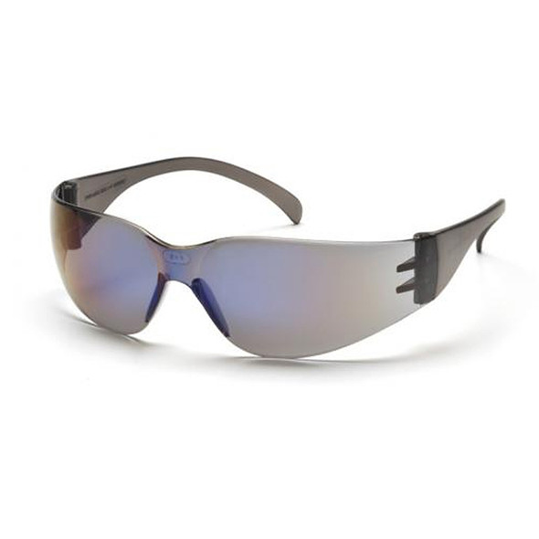Pyramex Intruder Safety Glasses Blue Mirror Lens S4175S