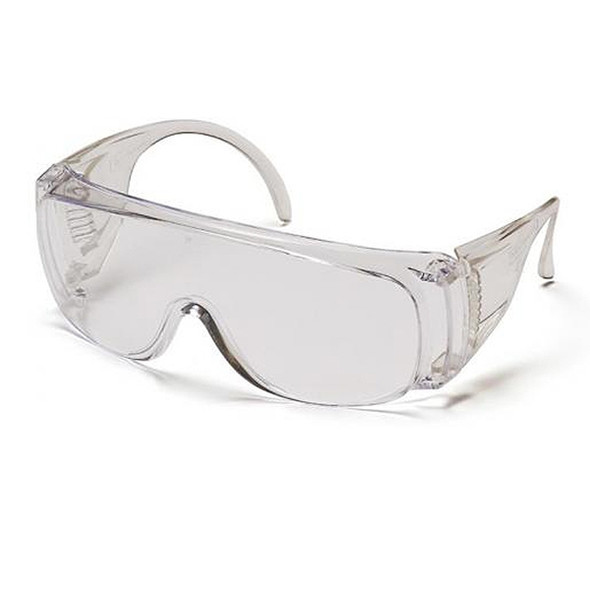 Pyramex Solo Clear Fit Over Safety Glasses S510S
