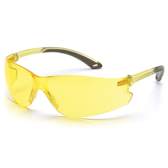 Pyramex Itek Amber Safety Glasses - Box of 12 - PX-S5830S