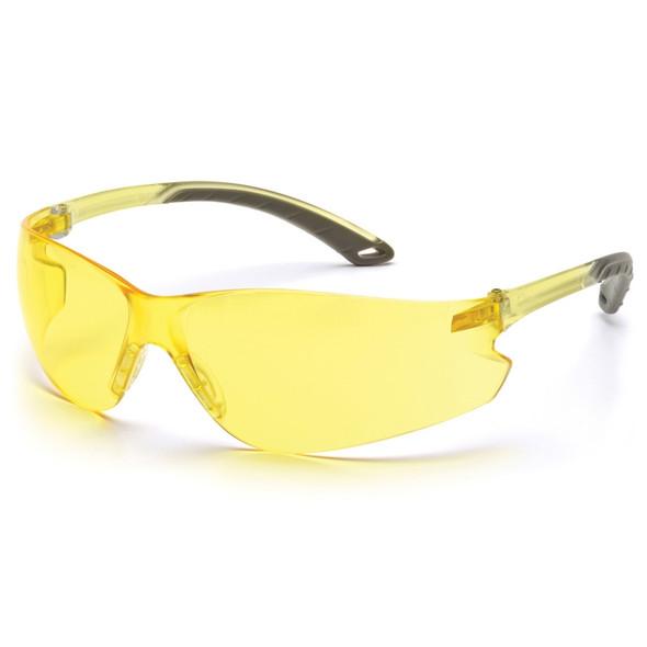 Pyramex Itek Amber Safety Glasses - Box of 12 - PX-S5830S