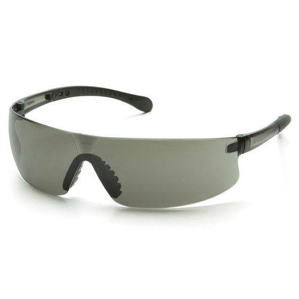 Box of 12 Pyramex Provoq Gray Lens Safety Glasses S7220S Side
