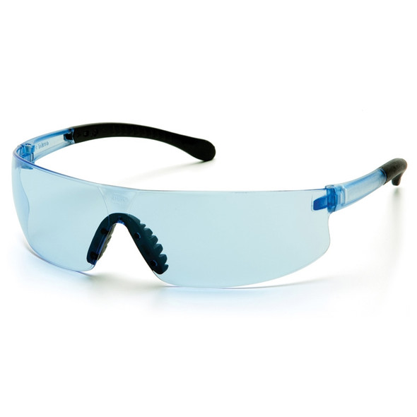 S7260S Pyramex Safety Glasses Provoq Infinity Blue - Box Of 12
