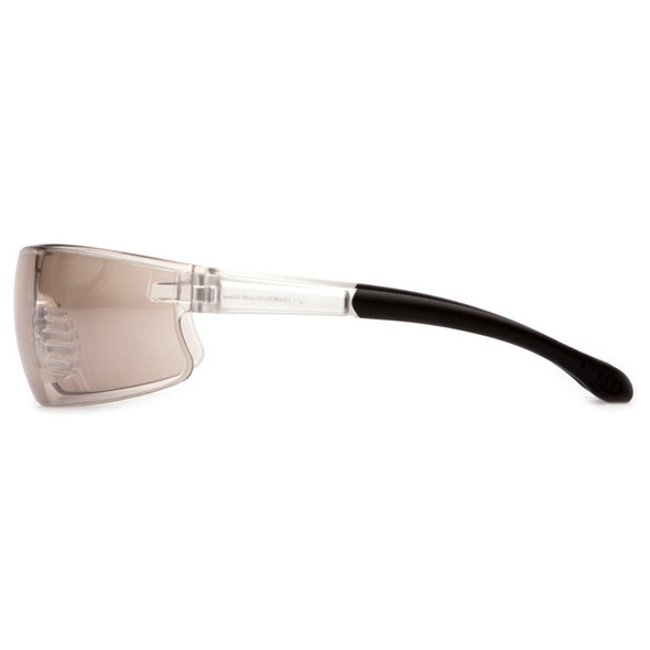 Box of 12 Pyramex Provoq Indoor-Outdoor Mirror Lens Safety Glasses S7280S Profile