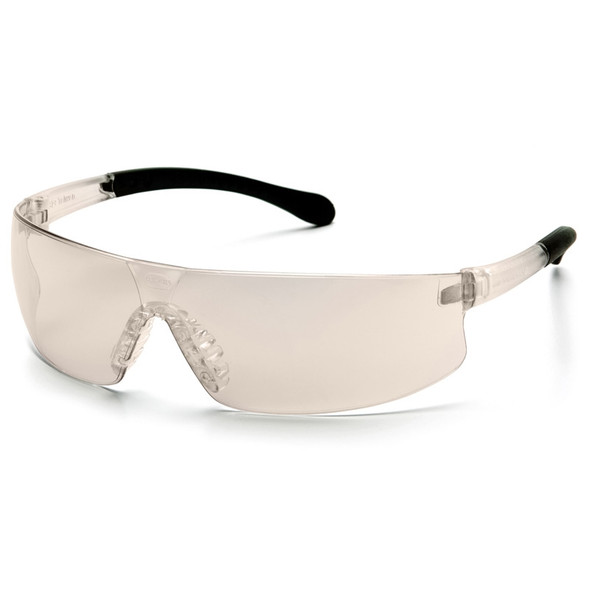 S7280ST Pyramex Safety Glasses Provoq Indoor-Outdoor Mirror Anti-Fog - Box Of 12