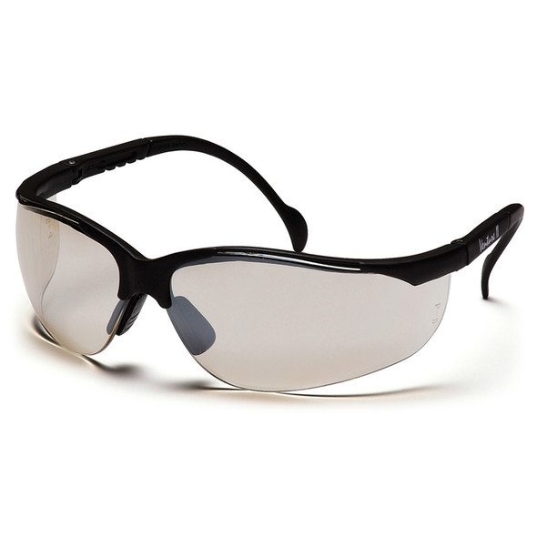SB1880ST Pyramex Safety Glasses Indoor-Outdoor Mirror Anti-Fog Venture II - Box Of 12