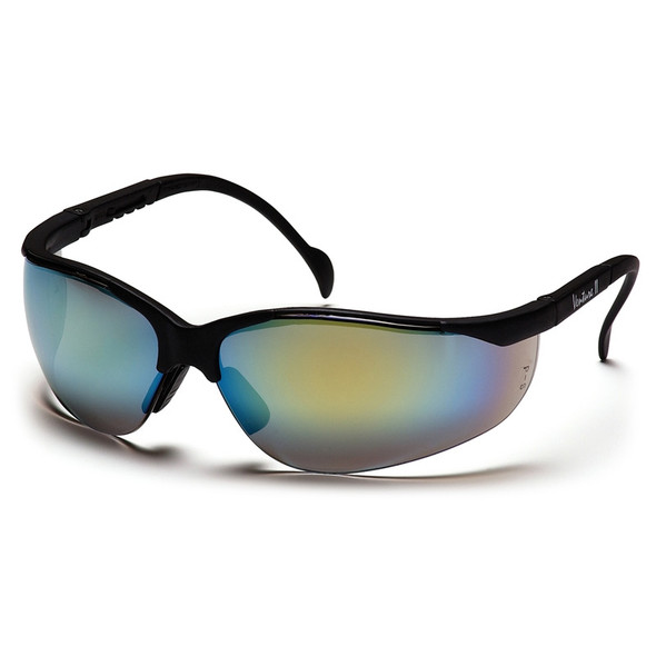 SB1890S Pyramex Safety Glasses Gold Mirror Venture II - Box Of 12