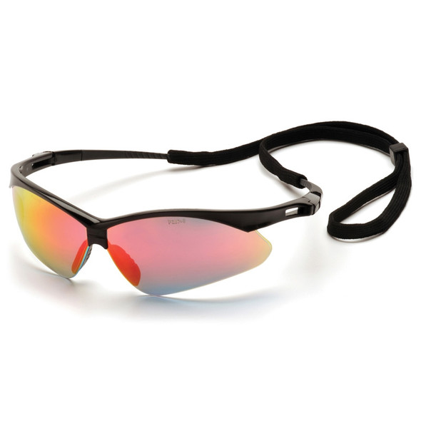 SB6345SP Pyramex Safety Glasses PMXTREME Ice Orange Mirror with Cord - Box Of 12