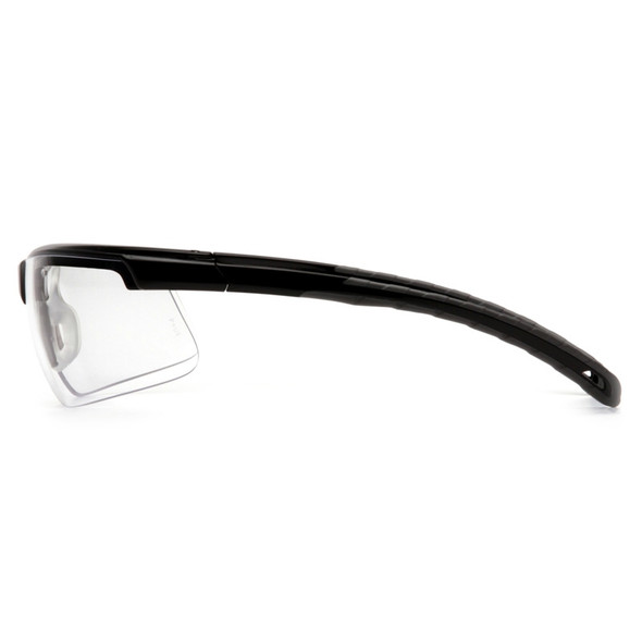 SB8610DT Safety Glasses Ever-Lite Clear Anti-Fog, Black Frame - Box Of 12