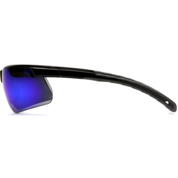 Box of 12 Pyramex Ever-Lite Ice Blue Mirror Lens Safety Glasses SB8665D Profile