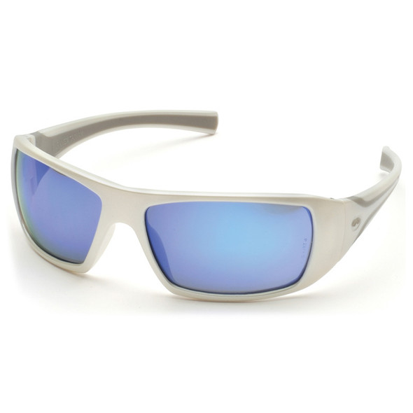 SW5665D Pyramex Safety Glasses Goliath Ice Blue Mirror - Box of 12