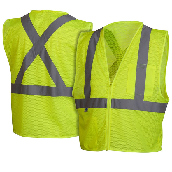 Class 2 Lime Safety Vest RCZ2110