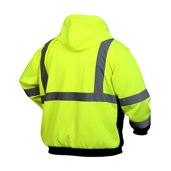 Heavy Duty Work Wear for Men or Women ANSI Class 2 Breakaway Vest with 5 Pockets XL//XXL High Visibility Safety Vest Hi Vis Breathable Mesh Yellow with Adjustable Hook and Loop Closure 3 Pack
