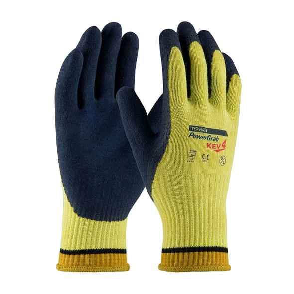 PIP Box of 72 Pair PowerGrab KEV4 Seamless Knit Kevlar Safety Gloves 09-K1444