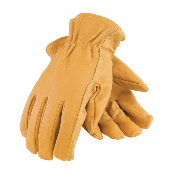 PIP Box of 72 Pair A2 Kut-Gard Top Grain Goatskin Work Gloves with Kevlar Line 09-K3700 Top