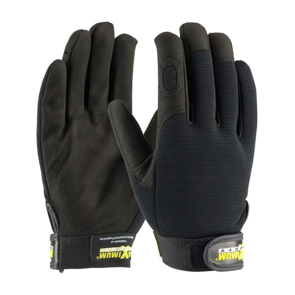 PIP Case of 72 Pair Maximum Safety Professional Mechanics Work Gloves 120-MX2805 Pair