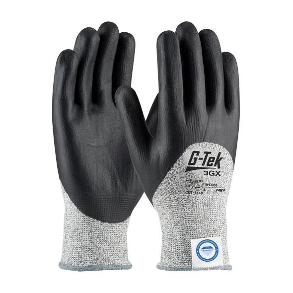 PIP Case of 72 Pair A3 Cut Level G-Tek 3GX Dyneema Nitrile Safety Gloves 19-D355