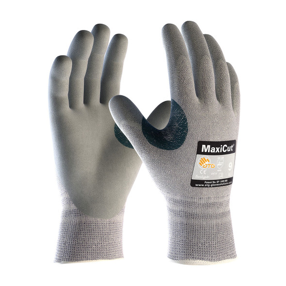 PIP Box of 72 Pair A4 MaxiCut Dyneema Safety Gloves with Nitrile Grip 19-D470