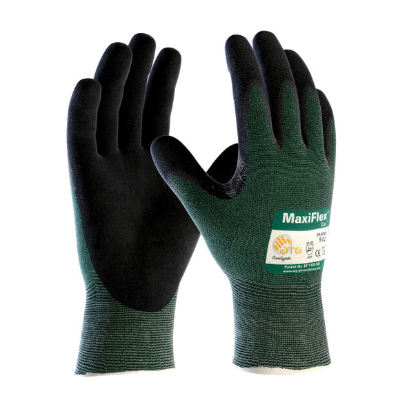 PIP Case of 72 Pair A2 Cut Level ATG MaxiFlex Safety Gloves 34-8743