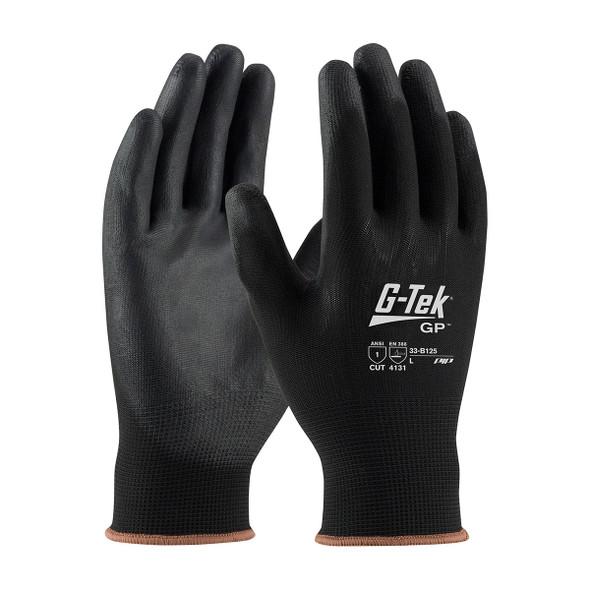 PIP Box of 300 Pair A1 Cut Level G-Tek GP Seamless Knit Nylon Gloves 33-B125 Pair