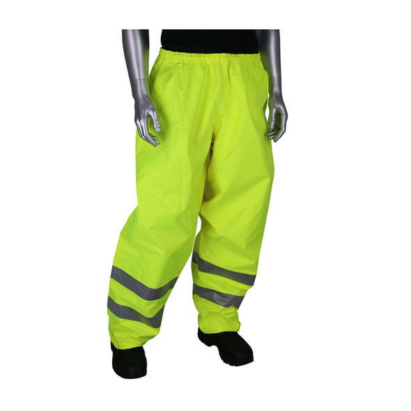PIP Hi Vis Class E Waterproof Rain Pants 353-2002 Yellow