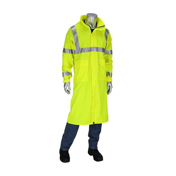 PIP Hi Vis Class 3 FR Raincoat 355-2505AR