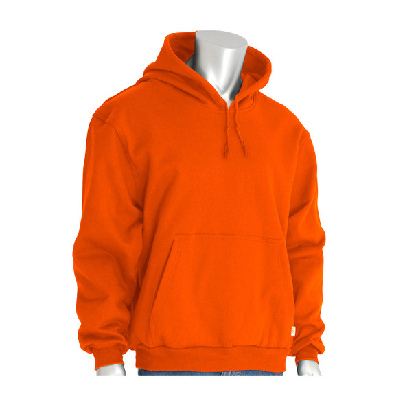 PIP FR Pullover Fleece Hoodie 385-FRPH Orange