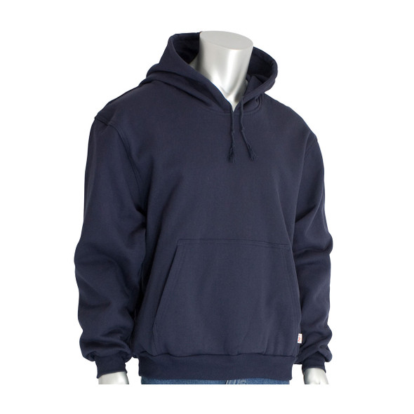 PIP FR Pullover Fleece Hoodie 385-FRPH Navy