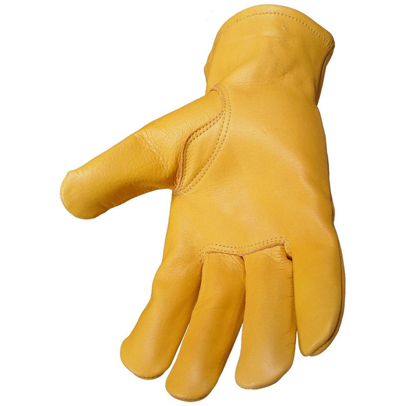 DeWALT Box of 12 Goatskin Driver Work Gloves DPG31 Palm